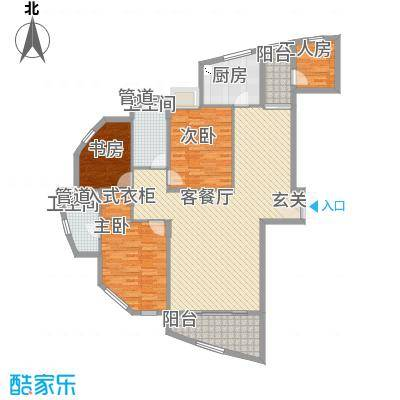 香格里164.09㎡香格里户型图户型图3室2厅2卫户型3室2厅2卫