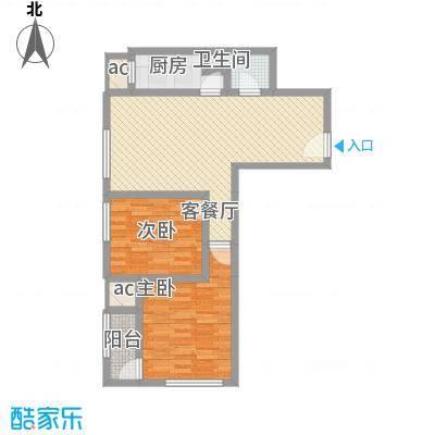 农委大院83.00㎡农委大院2室户型2室
