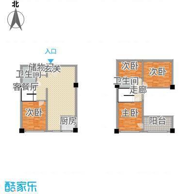 恒东幸福里99.20㎡恒东幸福里户型图C户型4室2厅2卫1厨户型4室2厅2卫1厨