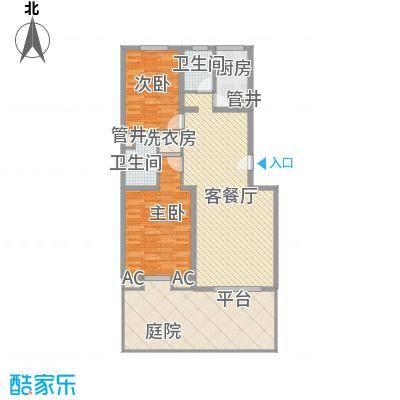 桥华世纪村桥华世纪村户型图5号楼2室2厅2卫1厨户型2室2厅2卫1厨