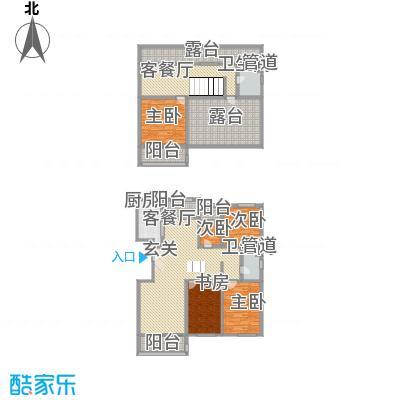 九合国际251.38㎡九合国际户型图户型图5室3厅2卫1厨户型5室3厅2卫1厨