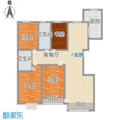 巨海城五区巨海城五区户型图4室2厅14室2厅1卫1厨户型4室2厅1卫1厨