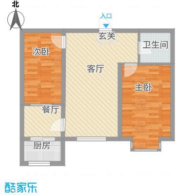 美地家园76.55㎡美地家园户型图户型图2室1厅1卫1厨户型2室1厅1卫1厨