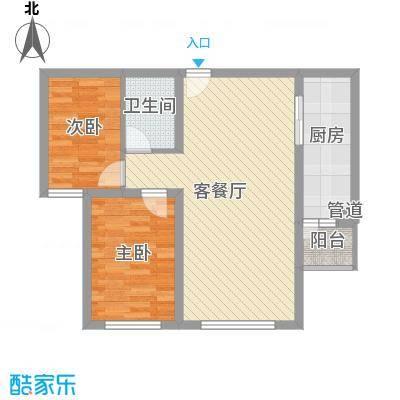 绝对城市80.58㎡绝对城市户型图户型图2室2厅1卫1厨户型2室2厅1卫1厨