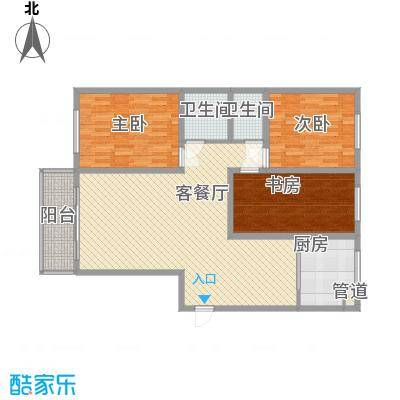 绝对城市122.50㎡绝对城市户型图户型图3室2厅2卫1厨户型3室2厅2卫1厨