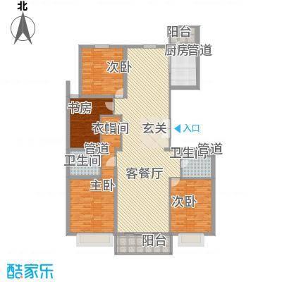 北环盛世北环盛世户型图科宇世纪苑1-3#面积:190-191m2户型10室