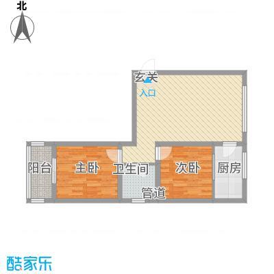 金河湾83.97㎡金河湾户型图户型图2室1厅1卫1厨户型2室1厅1卫1厨