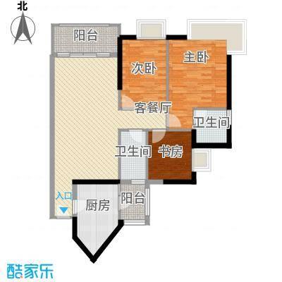 金碧领秀国际别墅金碧领秀国际别墅户型图06单元户型两房户型图户型10室