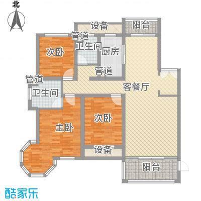 新公馆新公馆户型图E户型(2012.11.16)3室2厅1卫1厨户型3室2厅1卫1厨