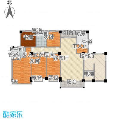 碧龙江畔205.46㎡碧龙江畔户型图J2户型5室2厅2卫1厨户型5室2厅2卫1厨