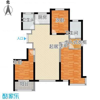 万锦逸城144.77㎡万锦逸城户型图B户型图3室2厅2卫1厨户型3室2厅2卫1厨