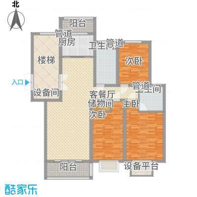 碧龙江畔138.53㎡碧龙江畔户型图户型图3室2厅2卫户型3室2厅2卫