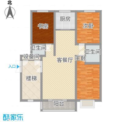 碧龙江畔118.43㎡碧龙江畔户型图户型图3室2厅2卫户型3室2厅2卫