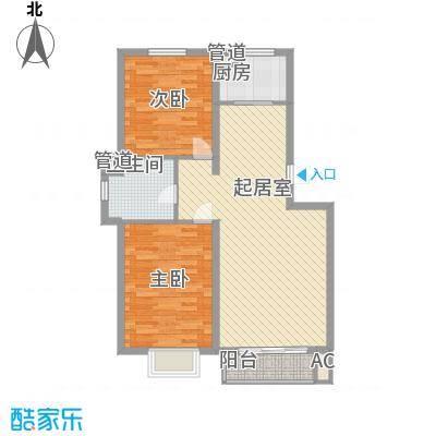 水语青城102.52㎡水语青城户型图户型图2室2厅1卫1厨户型2室2厅1卫1厨
