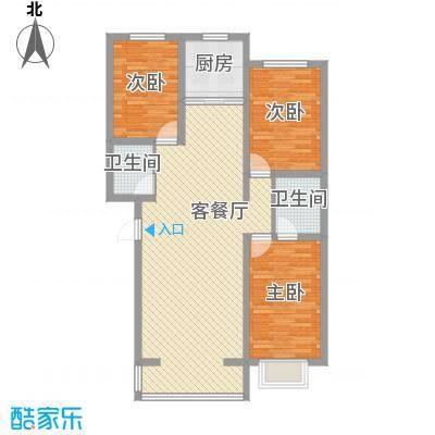 丽水山城115.85㎡丽水山城户型图E1户型图3室2厅2卫1厨户型3室2厅2卫1厨
