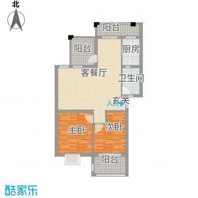 金色港湾金色港湾户型图2室2厅1卫1厨户型10室
