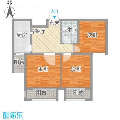 五塔寺西小区104.00㎡五塔寺西小区2室户型2室