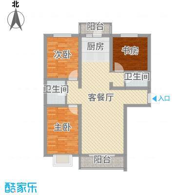 芳汀花园115.00㎡3室1户型3室2厅2卫2厨