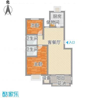 翔宇盛乐新城108.54㎡翔宇盛乐新城户型10室