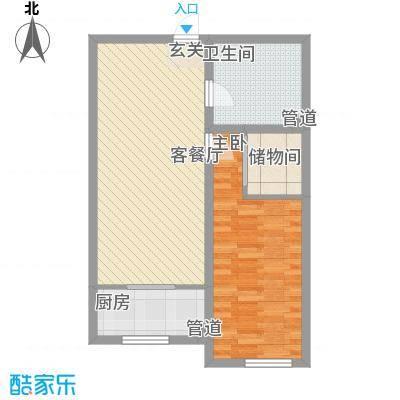 中油呼炼小区中油呼炼小区户型图花2室1厅12室户型2室