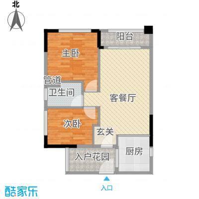 翡翠绿洲别墅翡翠绿洲别墅户型图2室2厅户型图2室2厅1卫1厨户型2室2厅1卫1厨