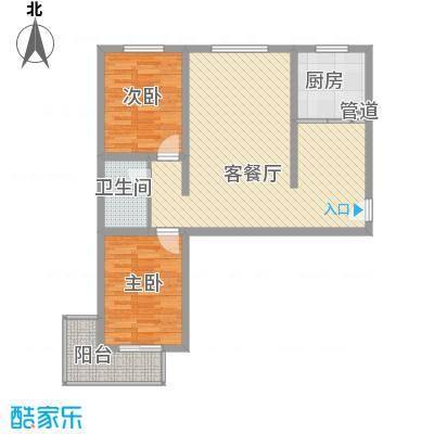 绝对城市96.50㎡绝对城市户型图户型图2室2厅1卫1厨户型2室2厅1卫1厨