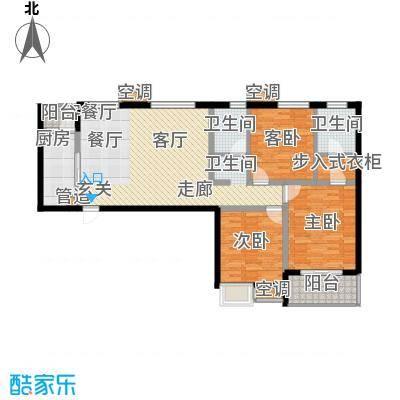 星海花园星海花园户型图三室两厅两卫43室2厅2卫1厨户型3室2厅2卫1厨