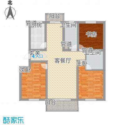 丽和阳光城122.88㎡丽和阳光城户型图J户型3室2厅2卫1厨户型3室2厅2卫1厨