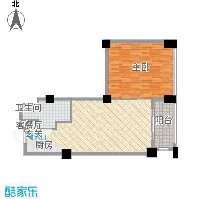 黄山�景假日公寓98.00㎡黄山�景假日公寓户型图H户型1室2厅1卫1厨户型1室2厅1卫1厨