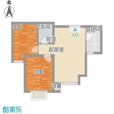 新希望家园新希望家园户型图二期29号楼标准层G户型2室1厅1卫户型2室1厅1卫