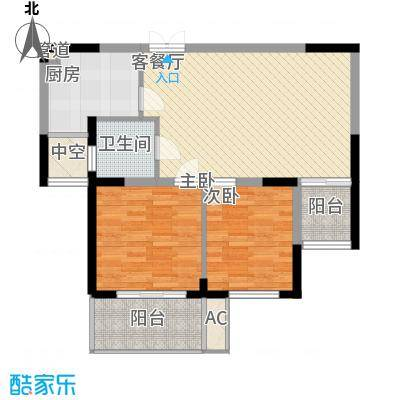东方华庭78.20㎡东方华庭户型图G5户型2室2厅1卫1厨户型2室2厅1卫1厨