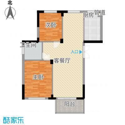 东方华庭96.80㎡东方华庭户型图G3户型2室2厅1卫1厨户型2室2厅1卫1厨