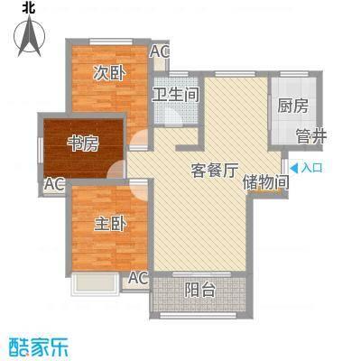 高速滨湖时代广场121.25㎡高速滨湖时代广场户型图C1户型3室2厅1卫1厨户型3室2厅1卫1厨