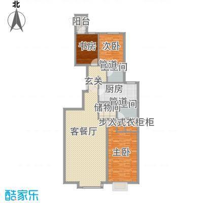 恩和家园181.09㎡恩和家园户型图4#六单元E3户型3室2厅2卫1厨户型3室2厅2卫1厨