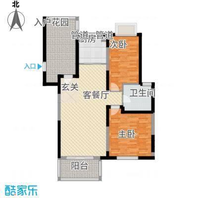 利港银河新城120.00㎡利港银河新城3室户型3室