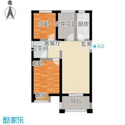 文华阁文华阁户型图32室2厅1卫1厨户型2室2厅1卫1厨