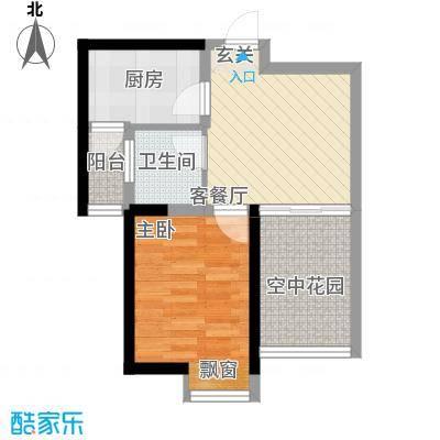 文华阁文华阁户型图11室1厅1卫1厨户型1室1厅1卫1厨