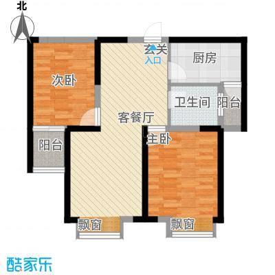 文华阁文华阁户型图22室2厅1卫1厨户型2室2厅1卫1厨
