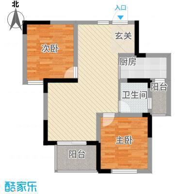 御景前城87.30㎡御景前城户型图11#16#户型2室2厅1卫1厨户型2室2厅1卫1厨