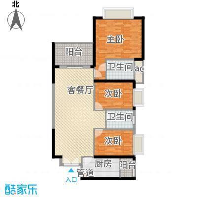 锦绣银湾别墅户型图3、4座L、L1型