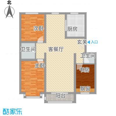 美地家园118.50㎡美地家园户型图户型图3室2厅2卫1厨户型3室2厅2卫1厨