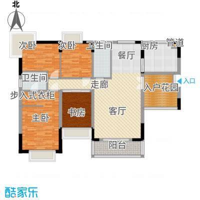 优山美地(别墅)户型图422 4室2厅2卫