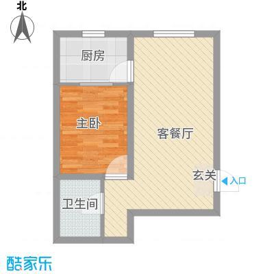 美地家园61.50㎡美地家园户型图户型图1室1厅1卫1厨户型1室1厅1卫1厨
