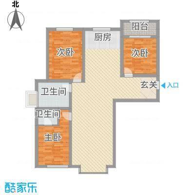 植物园宿舍花3室2厅2户型3室