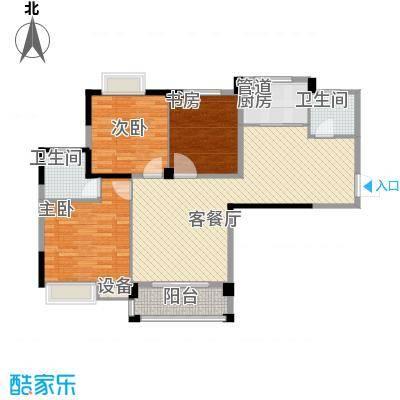 远大尚林苑116.10㎡远大尚林苑户型图C1户型3室2厅2卫1厨户型3室2厅2卫1厨