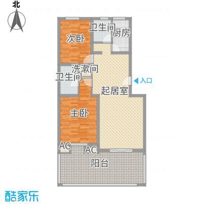 丽苑小区丽苑小区户型图桥华2室1厅2室户型2室