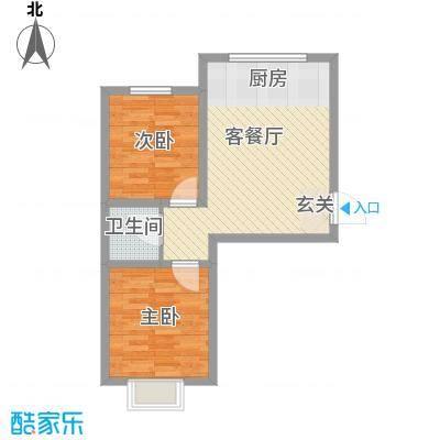 阳光美地70.53㎡阳光美地户型图K户型2室1厅1卫1厨户型2室1厅1卫1厨