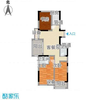 优活华庭114.00㎡优活华庭户型图二期3号楼C6户型3室2厅1卫1厨户型3室2厅1卫1厨