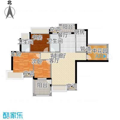 御龙湾120.34㎡御龙湾户型图A3户型3室2厅2卫2厨户型3室2厅2卫2厨