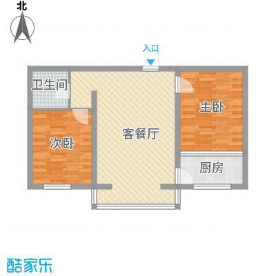 丽水山城78.85㎡丽水山城户型图G2户型图2室1厅1卫1厨户型2室1厅1卫1厨